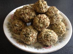 Almond Falafel 2